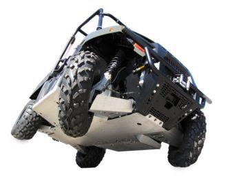 Skid plates full kit - Polaris 400 Ranger