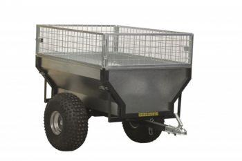 ATV trailer + box extender cage