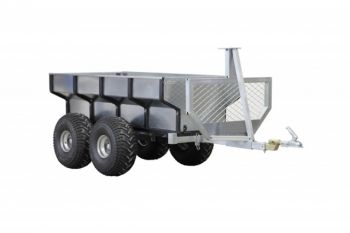 ATV timber trailer + cargo box