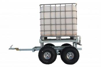 ATV timber trailer + WATER TANK KIT (1000L)