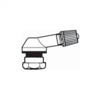 Alu tyre valves  Ø11,5mm Black