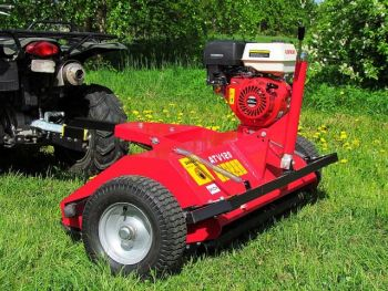 ATV flail mower, 15hp Loncin engine