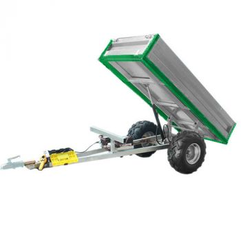 Hydraulic tipping trailer (600kg loading capacity)
