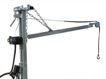 Electric winch set + Crane