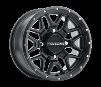 Raceline - SIMULATED BEADLOCK KRANK 14X7 4/156 BRONZE ATV rim