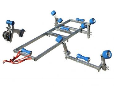 Boat carrier for up to 4.5 m boat