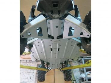 RIVAL Complete Skid Plate Kit Aluminum Can-Am Maverick X3 XDS/XRS