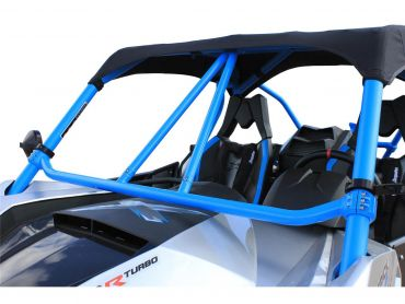 "DRAGONFIRE Race ""Flying V"" Front Bar Blue Can-Am Maverick"