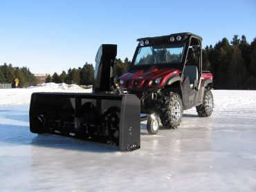 "ATV Snow Blower 66"" (167 CM), 22HP HONDA ENGINE"