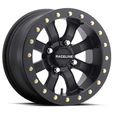 "Raceline - BEADLOCK MAMBA Matte Black 14"""