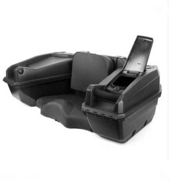 ATV / Quad bike storage box with heated grip - KIMPEX TRUNK NOMAD