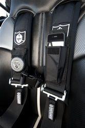 "Pro Armor 3"" 5PT SEAT BELT HARNESS W/LIGHT BLACK"