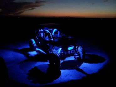 "SHARK LED ROCK LIGHT,3""X2"",3W,MULTI-COLOR,BLUETOOTH CONTROL,4 PCS SET"